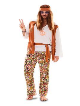 disfraz de hippie retro para hombre