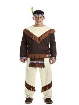 disfraz de indio apache para hombre