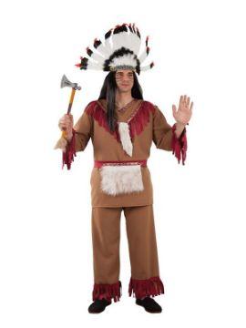 disfraz de indio comanche para hombre
