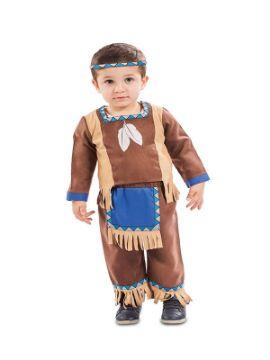 disfraz de indio para bebe