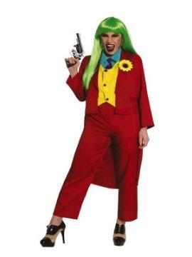 disfraz de joker para mujer adulto