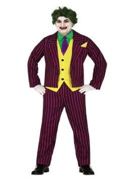 disfraz de joker risueño para hombre