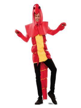 disfraz de langosta para hombre