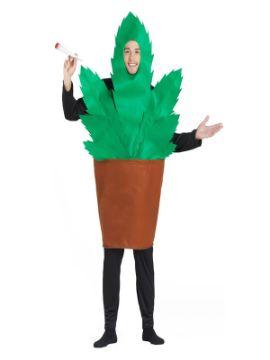 disfraz de maceta de marihuana para adultos