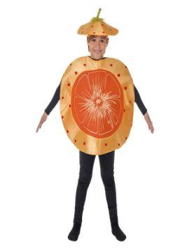 disfraz de mandarina o naranja infantil