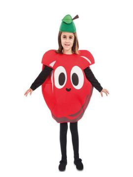 disfraz de manzana para infantil