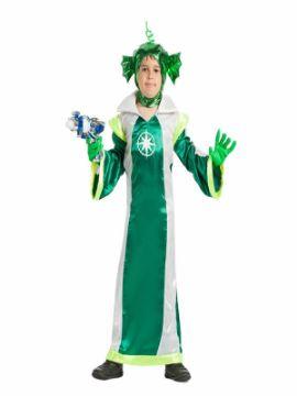 disfraz de marciano verde para niño