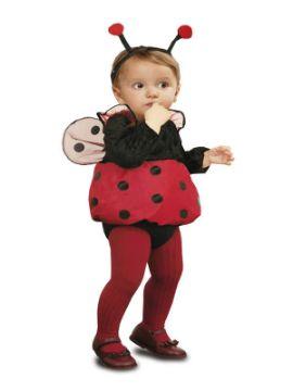 disfraz de mariquita para bebe