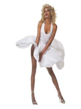 disfraz de marilyn monroe barato para mujer