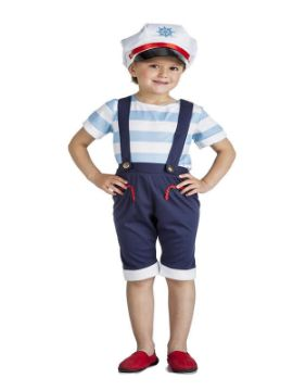 disfraz de marinera con pantalones niña