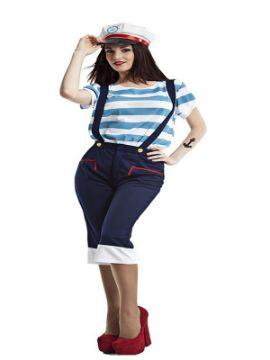 disfraz de marinera para mujer
