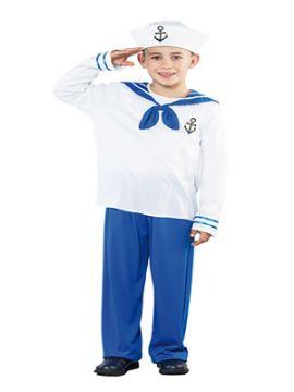 disfraz de marinero con ancla niño