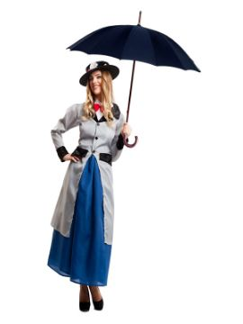 disfraz de mary popping lujo mujer