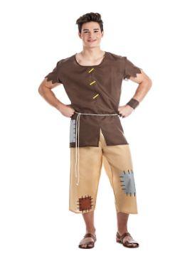 disfraz de mendigo medieval adulto