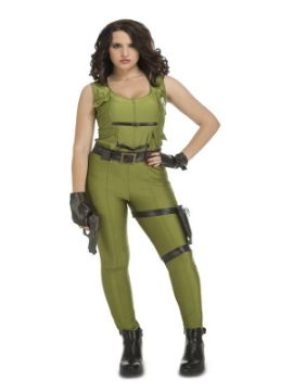 disfraz de militar de asalto para mujer