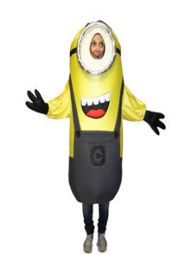disfraz de minions gracioso adulto