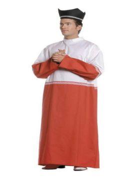 disfraz de monaguillo clasico hombre adulto