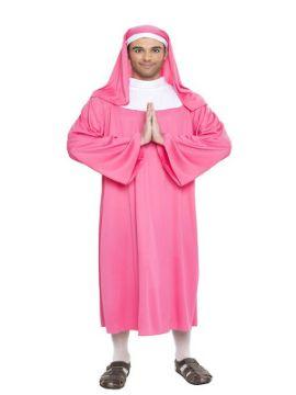 disfraz de monja rosa hombre