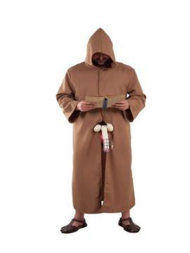 disfraz de monje de castidad hombre