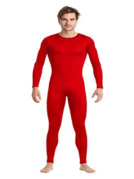 disfraz de mono o maillot rojo hombre