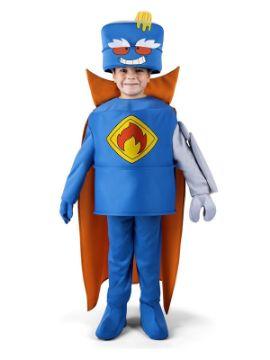 disfraz de mr king superzings para niño
