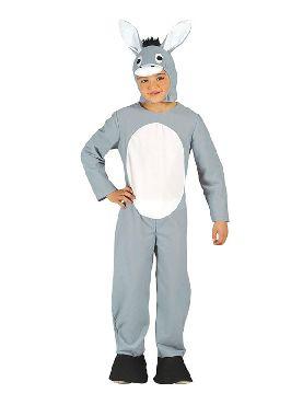 disfraz de mula gris infantil