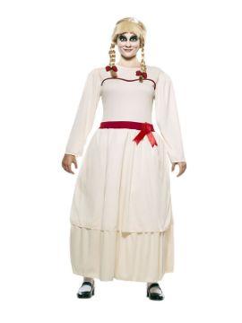 disfraz de muñeca annabel para mujer