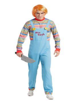 disfraz de muñeco diabolico chucky hombre