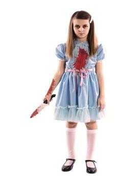disfraz de niña escalofriante para niña