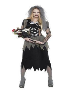 disfraz de novia cadaver para mujer