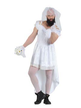 disfraz de novia sexy para hombre