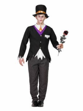 disfraz de novio cadaver hombre