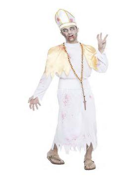 disfraz de obispo zombie para hombre