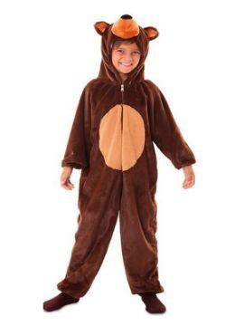 disfraz de oso marron infantil