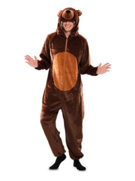 disfraz de oso marron para hombre