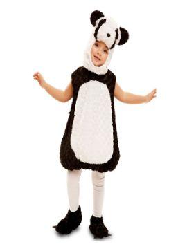 disfraz de oso panda de peluche niño