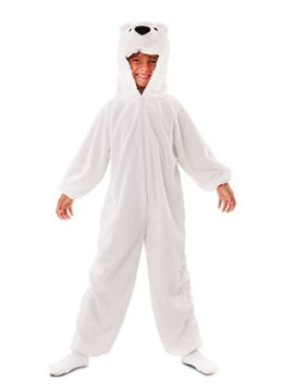 disfraz de oso polar infantil
