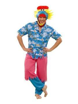 disfraz de pajaro hawaiano para hombre