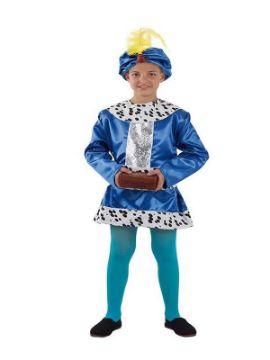 disfraz de paje baltasar niño infantil