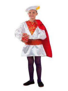 disfraz de paje melchor niño infantil