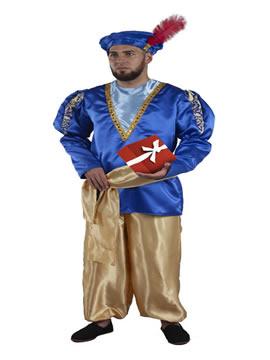 disfraz de paje real adulto
