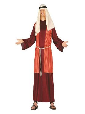 disfraz de pastor hebreo granate hombre