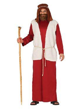 disfraz de pastor rojo para hombre