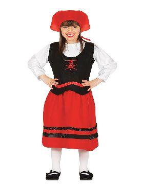 disfraz de pastorcilla para niña
