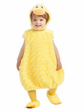 disfraz de pato suave para bebe