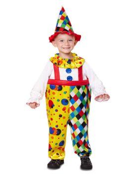 disfraz de payasito colores niño