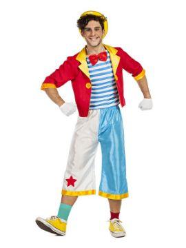 disfraz de payaso de circo hombre
