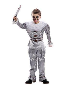 disfraz de payaso del terror para niño