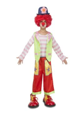 disfraz de payaso rodeo niño