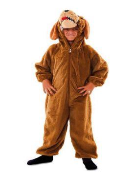 disfraz de perrito marron para niño
